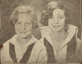 Jo Sinclair and Fannie