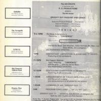 1971 Groovy Guy Schedule