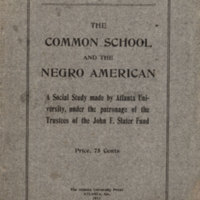 RVPM Augustus Granville Dill Common School and the Negro American