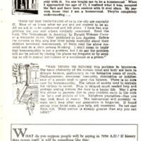 Sidebar, ONE, April 1955, 23.