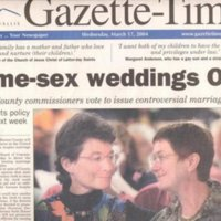 Same-sex weddings