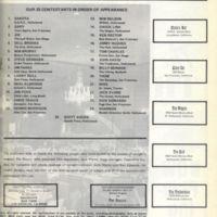 1971 Schedule part 2